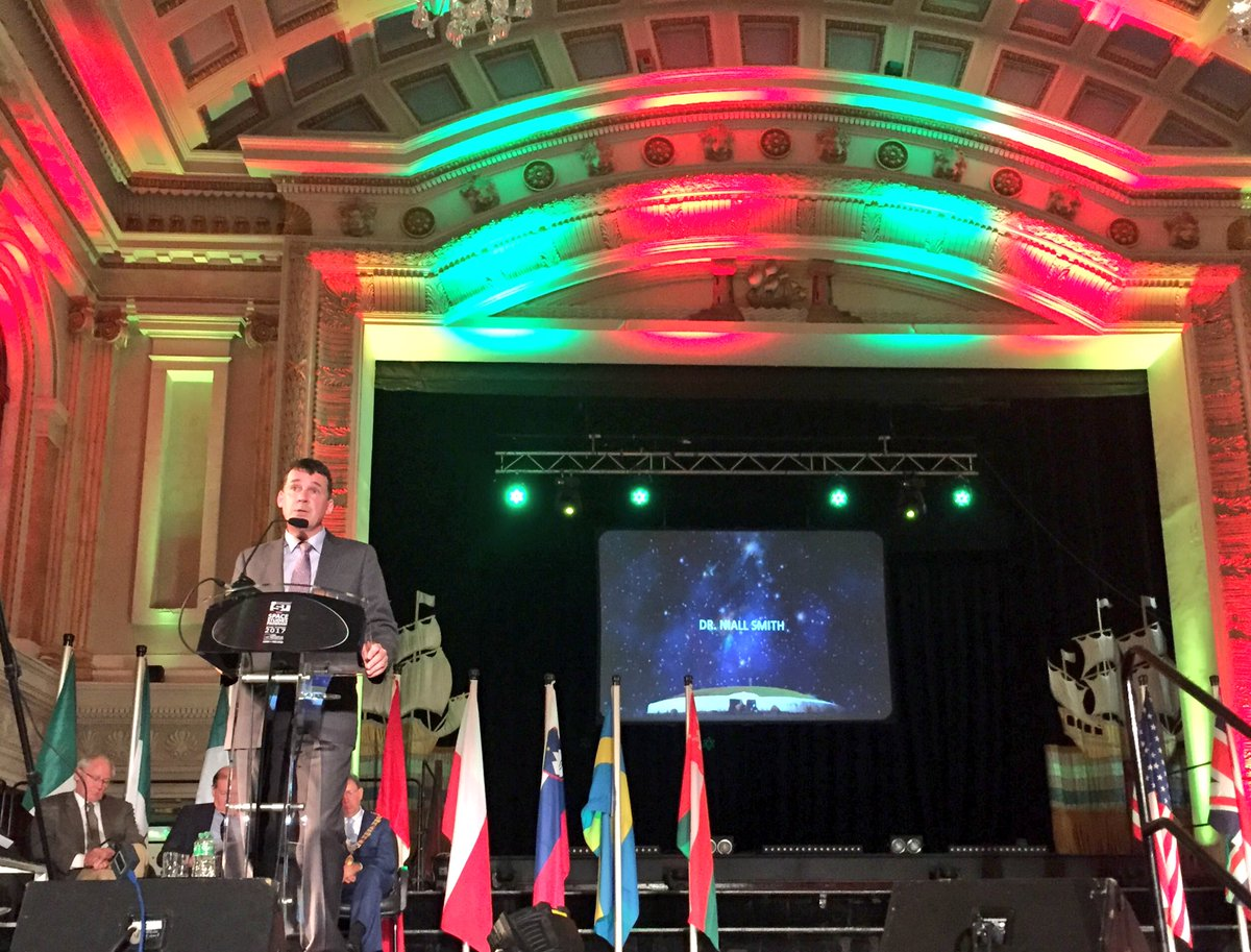 Very proud in @CIT_ie of our Head of Research Dr Niall Smith whose vision brought the wonderful space people to #Cork #SSP17 #SummerOfSpace<br>http://pic.twitter.com/aFJMLeMIHf