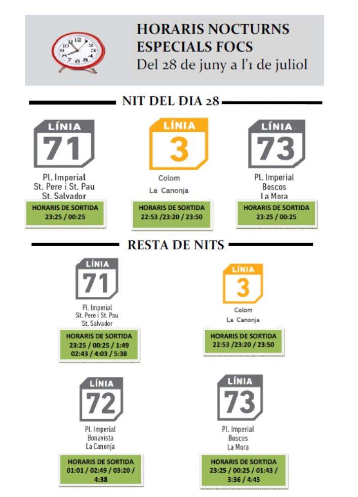 #ConcursFocsTGN | Fins dissabte ampliem la freqüència de línies de bus...