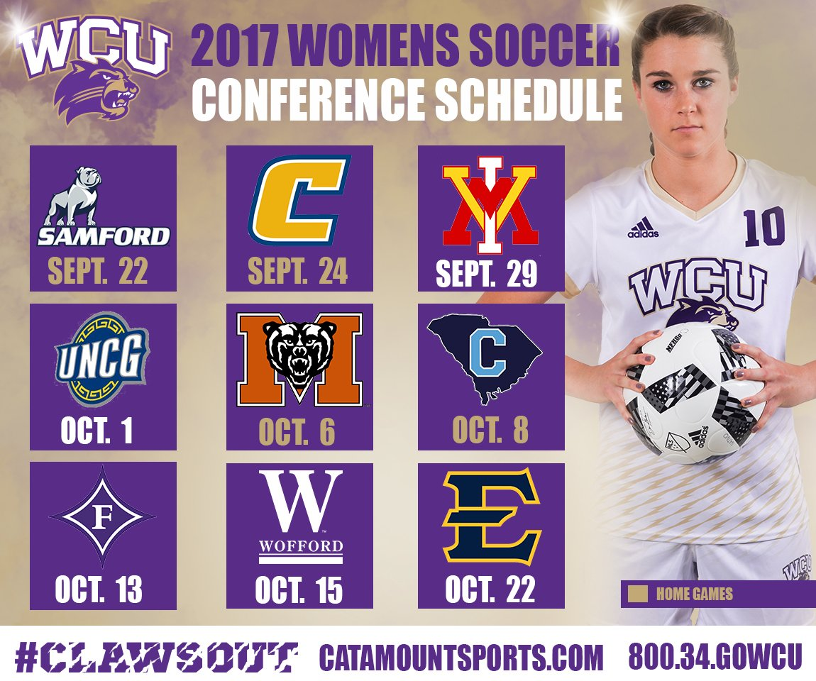 2017 Soccer Conference Schedule