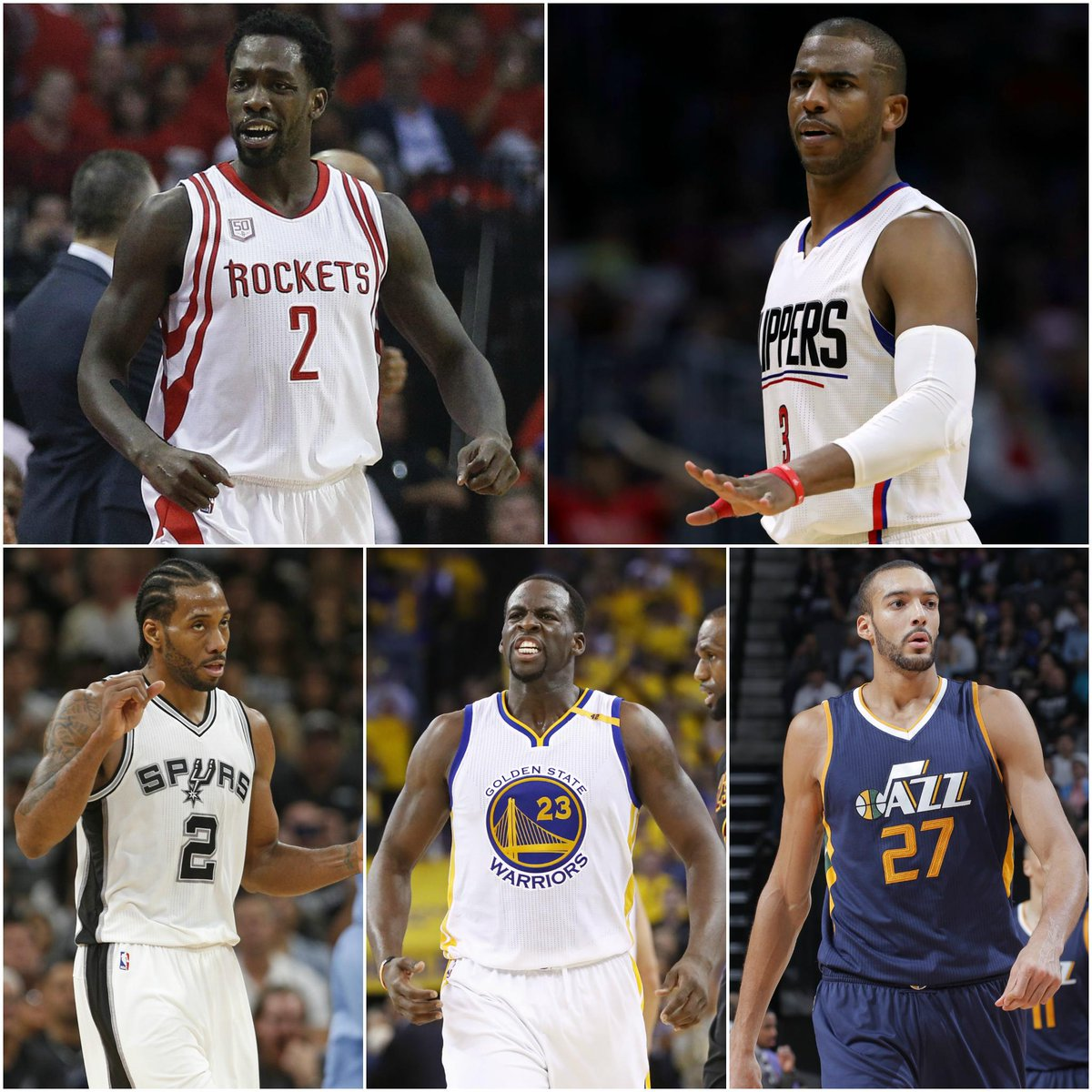 NBA All-Defensive Team: Draymond Green Rudy Gobert Kawhi Leonard Chris...