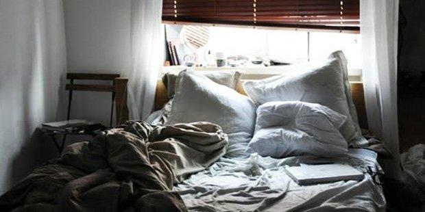 Yatağınızı dağınık bırakmak sağlığınız için yararlı olabilir https://t...