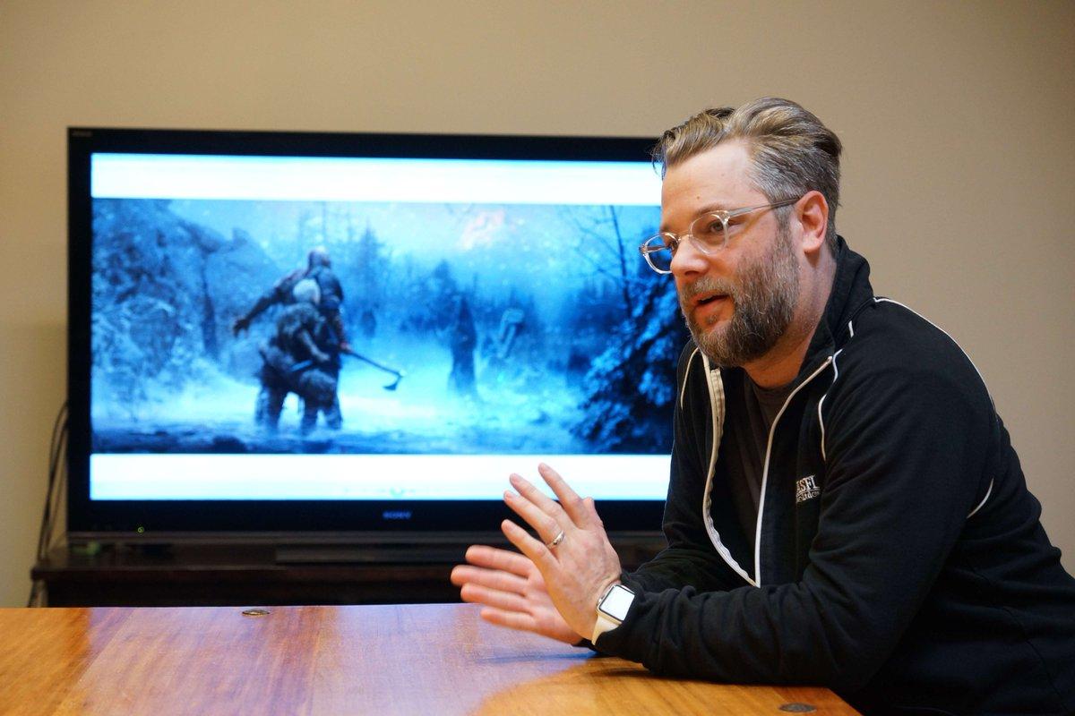 Cory Barlog'un God of War İncelemelerine Tepkisi.