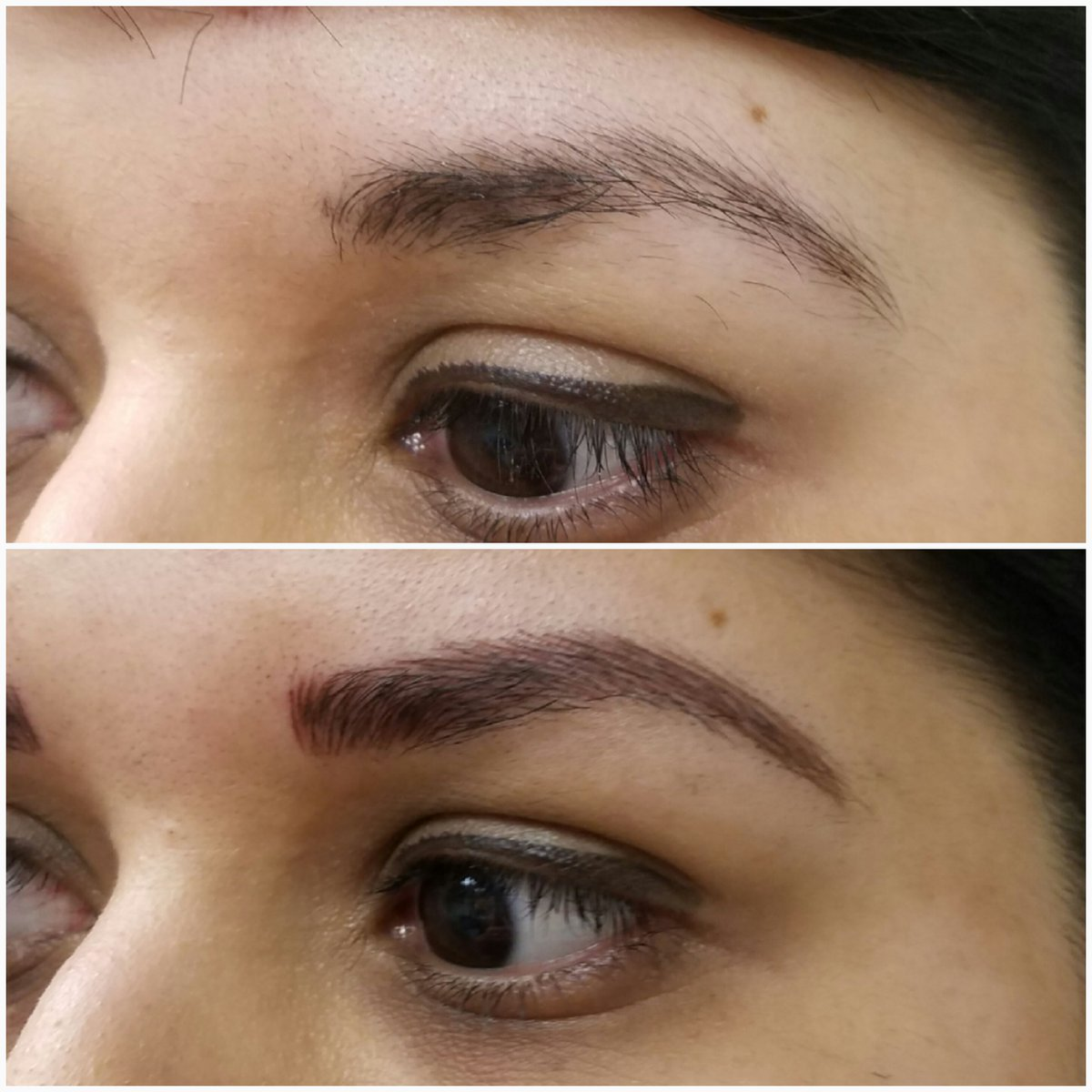 Want a more permanent solution to your thin #eyebrows? Call us at 281-333-DERM (3376)  http:// ow.ly/4H9E30cMJ4q  &nbsp;   #MicrobladingMonday<br>http://pic.twitter.com/3y8Fkybn9v