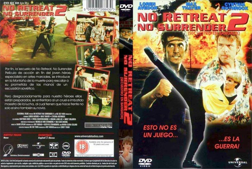 #Nw  No Retreat No Surrender II .. 1988  Cynthia Rothrock  Loren Avedo...