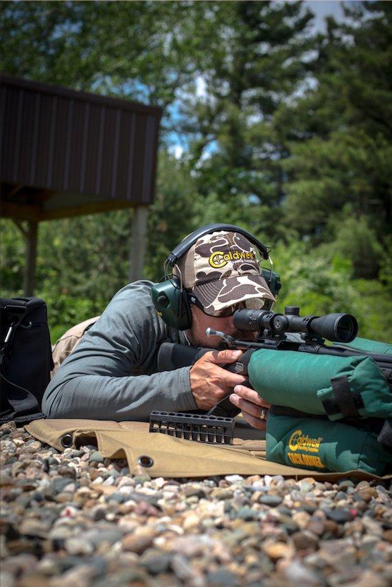 Dedication. Concentration. Perfection.  - - - #caldwellshootingsupplies #caldwellshooting #smithandwesson #range #sightingin #tackdriver<br>http://pic.twitter.com/WWKG3Wpg7Q