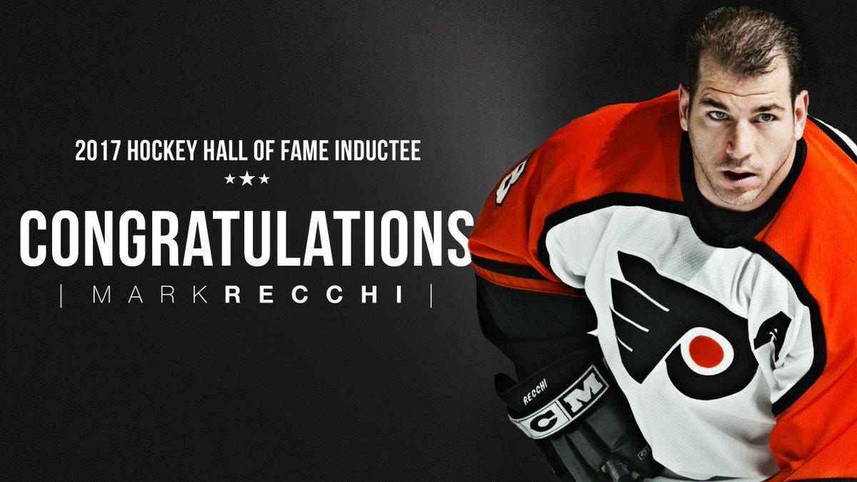 Congratulations to @Markrecchi8, 2017 @HockeyHallFame Inductee!  Read...