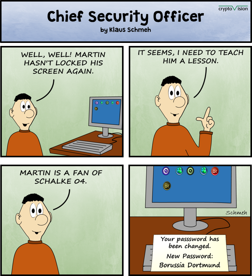 Chief Security Officer: A cartoon a day: 04. #cvmindshare #ITSecurity #privacy #Crypto #cartoon #CSOCartoon<br>http://pic.twitter.com/v4V5au7vo3