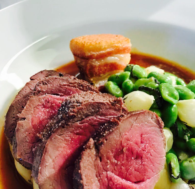 Yorkshire Venison one of the dishes from our Plats Principaux #venison #yorkshire #elland #dining <br>http://pic.twitter.com/6uvbAY5upY
