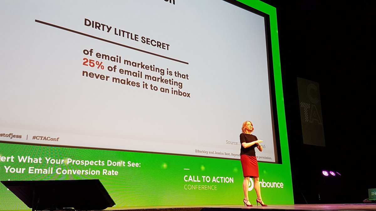 Challenges of email marketing.. A series from @bestofjess at #CTAConf...