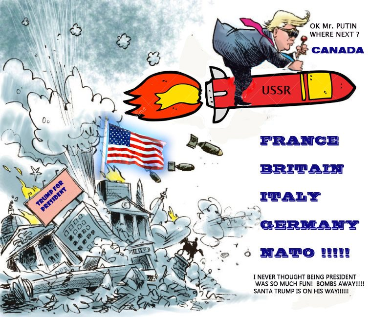 Image result for cartoon of trump on war path with twitter
