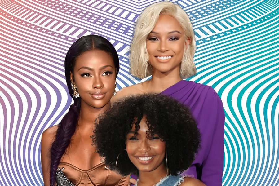 These hair and makeup  moments caught our eye at the 2017 BET Awards.: https://t.co/541aM5AfSw