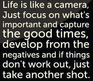 I love this. Happy #mondaymotivation! Here's to capturing the good tim...