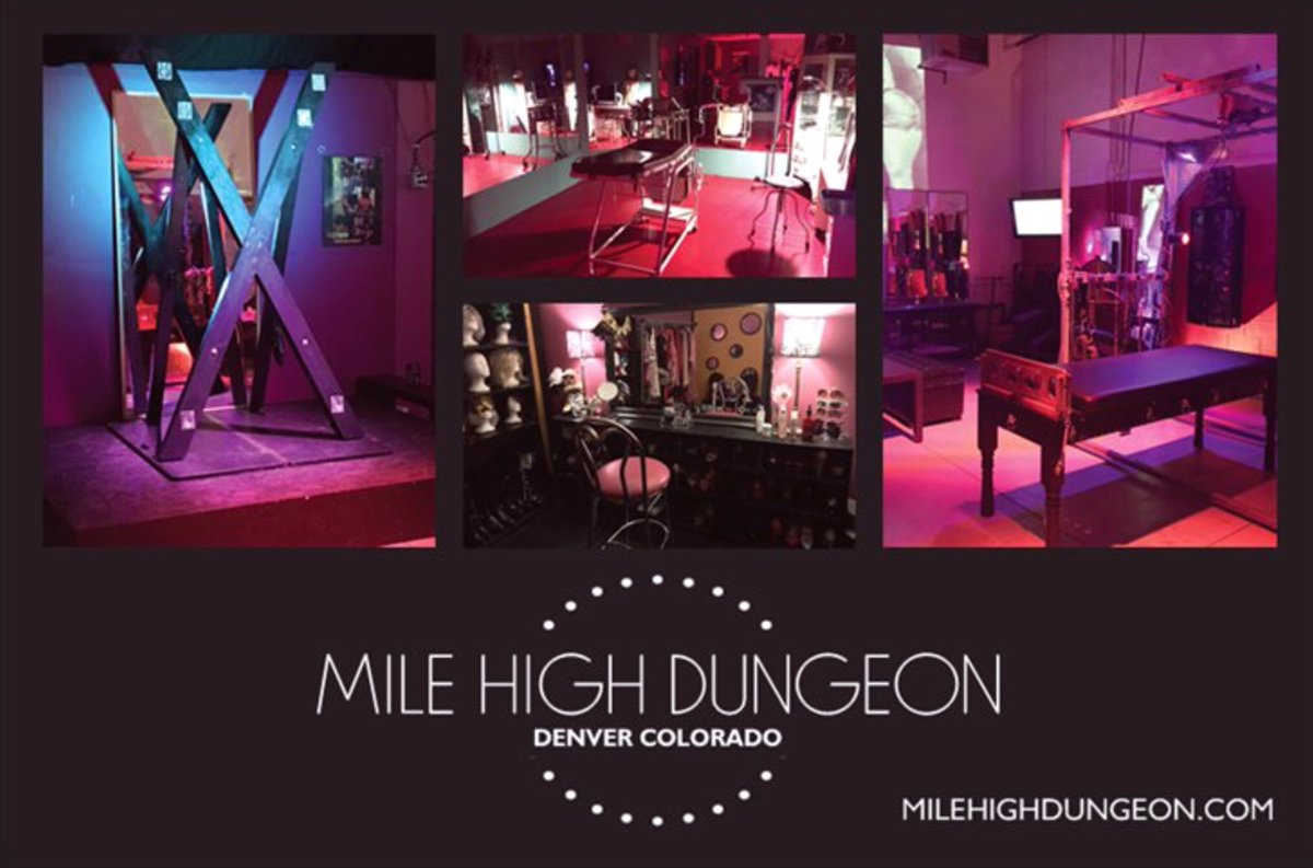 """Bdsm Dungeon mile high dungeon on twitter: """"there should be a"""