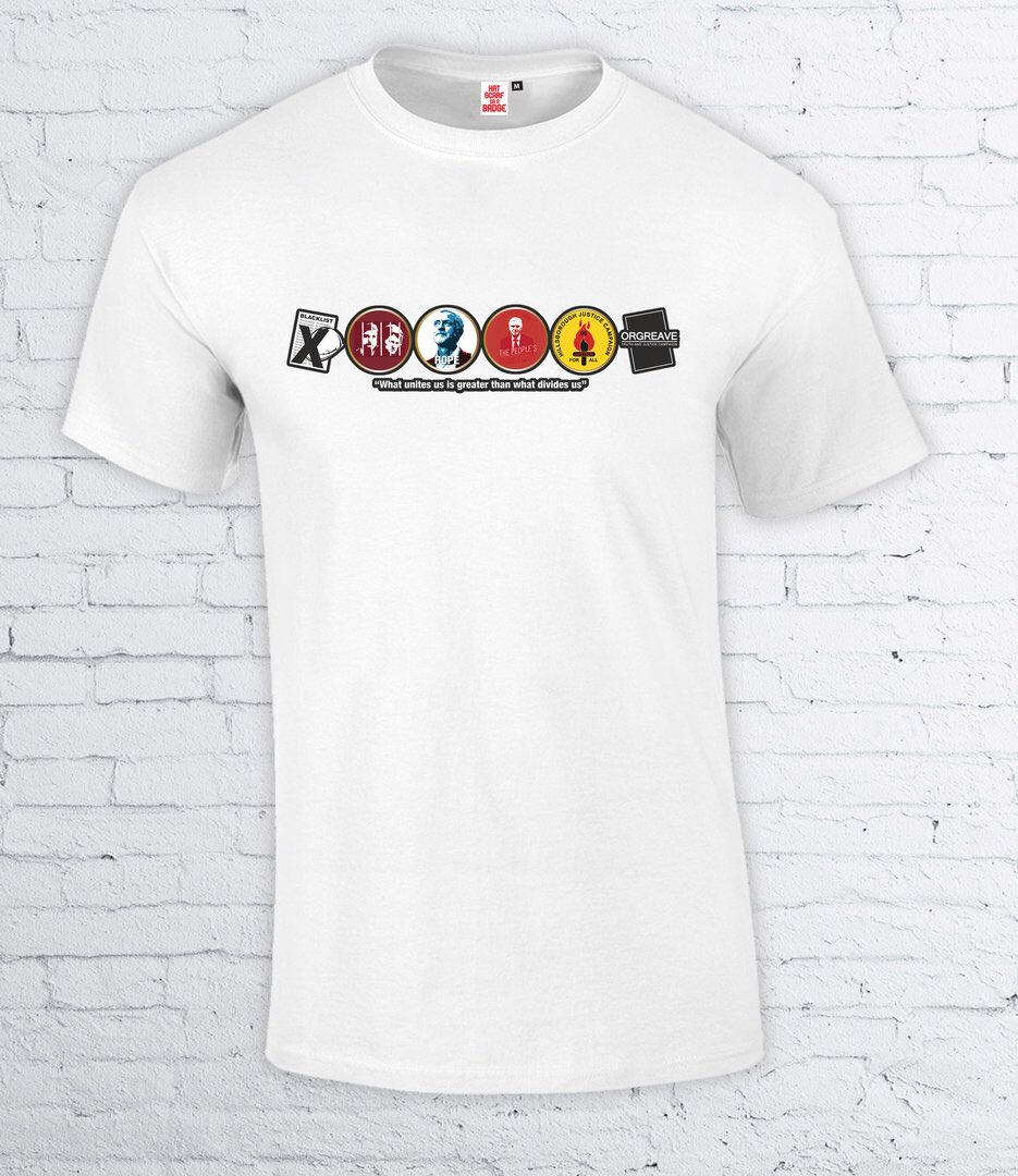 df3251648 all profits from the t-shirt (which costs £19.99) will be going to  foodbanks - https   twitter.com hatscarforabadg status 879427342157967360