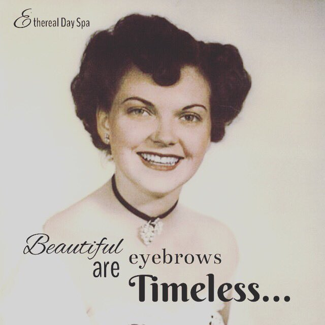 Beautiful eyebrows are Time. Booking an appointment with Susie is a must!  #eyebrows #brow #microblading #beautifuleyebrows #etherealdayspa<br>http://pic.twitter.com/IeSBPoK9O4