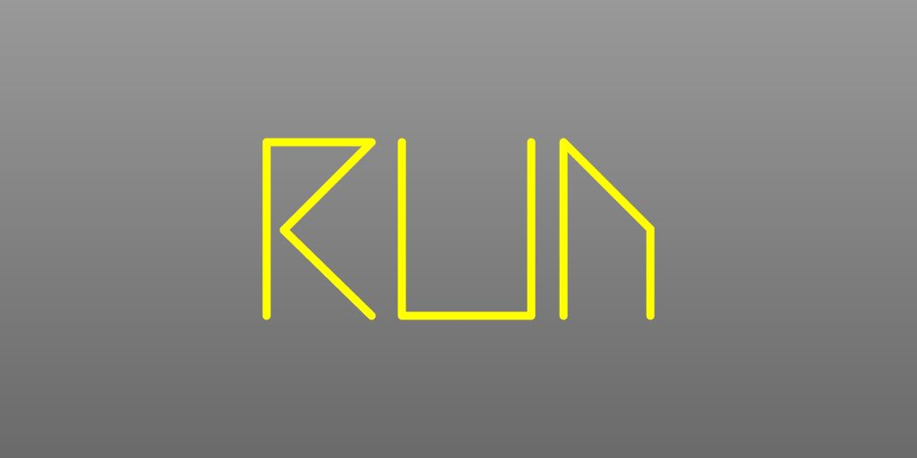 I designed a #bespoke #font for my #indiegame #future #runner  #escape #indiedevhour #Unity3D #madewithunity #GameDesign #typography #typo<br>http://pic.twitter.com/a5Nt2NK5XN