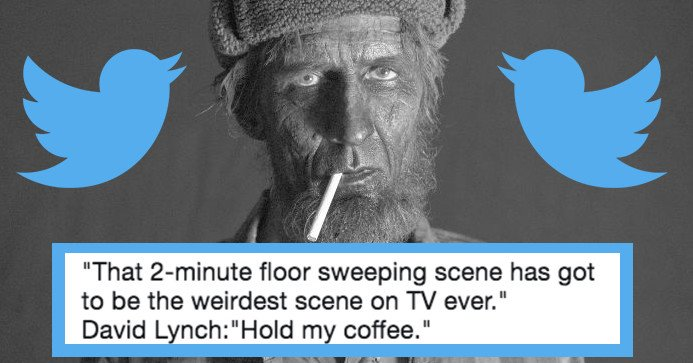 'Twin Peaks' was so extra crazy and beautiful last night that fans lost their damn minds  https://t.co/80nVSaylvq