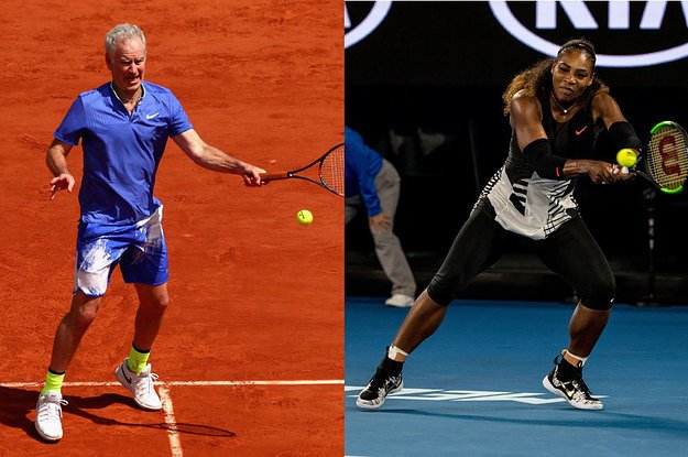John McEnroe said Serena Williams would be ranked 700 in the world if she played against men  https://t.co/UuTsltqzup