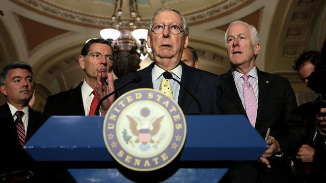 #BREAKING: CBO: Senate GOP healthcare bill would increase number of uninsured by 22 million  http:// hill.cm/pp2IGA9  &nbsp;  <br>http://pic.twitter.com/GJAWk8Oq1x
