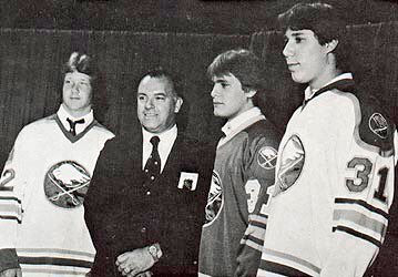 Scotty Bowman's Class Of 1982:  Housley, Cyr, Andreychuk  I remember i...