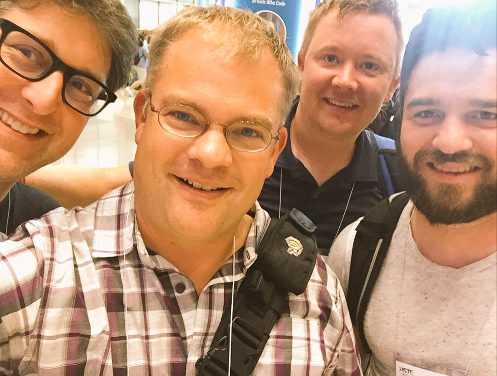 Why is #ISTE17 important 2 me ? #connections @mrmatera @Slapshot99 @MrBold05 #xplap #WellPlayedU Thx for chatting Can&#39;t wait to do it again <br>http://pic.twitter.com/8mSRXEA8Ft