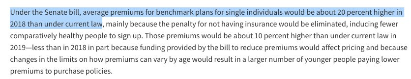 CBO says 15M fewer people would be covered in 2018 *and* premiums would go up 20% more than they already would. Just in time for midterms...