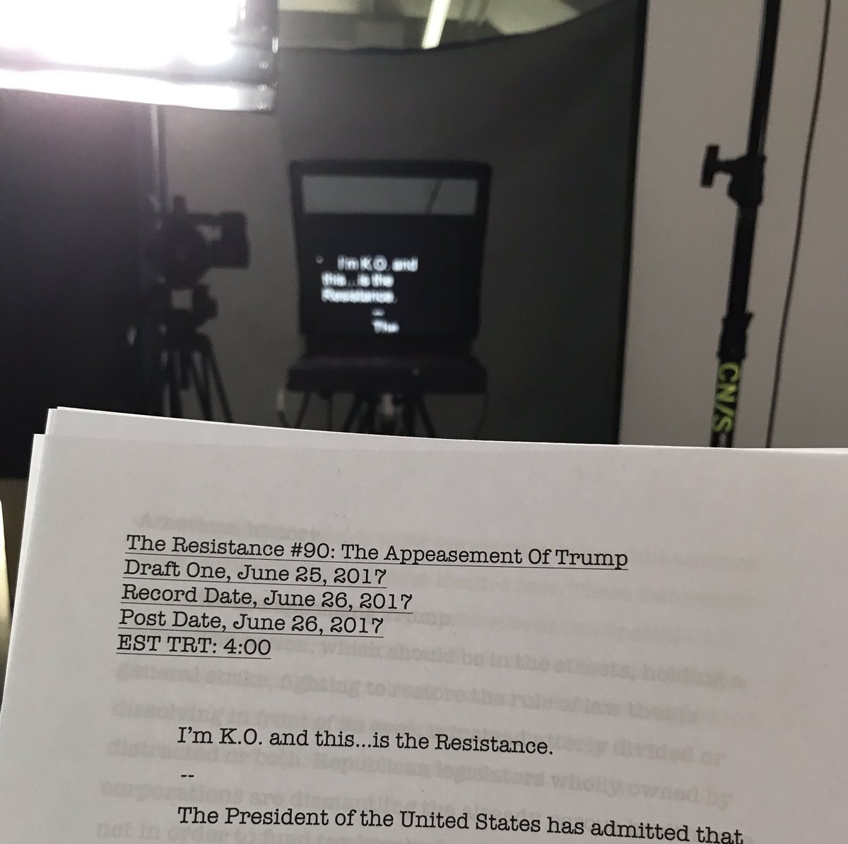 Coming up on #TheResistanceGQ. @seanhannity lets the trial 99 Trial Balloons out of the bag: is Trump about to confess to Russian collusion?