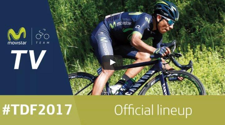 test Twitter Media - Video: Movistar reveals its Tour de France nine https://t.co/E1YVM63C4V https://t.co/gQvmBWFM6s