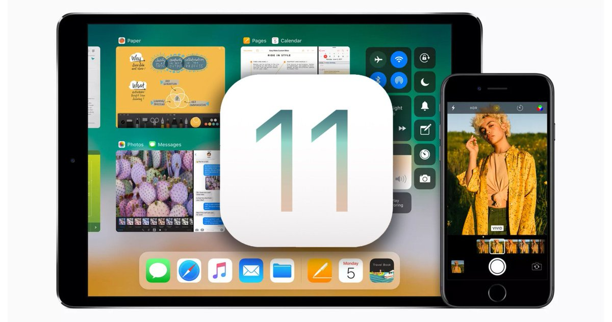 iOS 11's public beta is out now - here's how to get it https://t.co/2K4wdyx0Bz