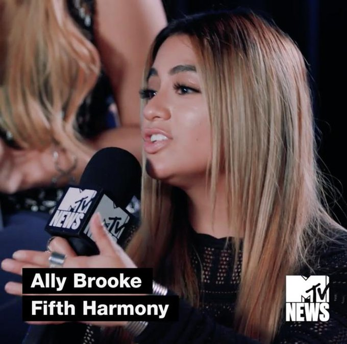 Fifth Harmony reenact the moment when @AllyBrooke first showed them her new song with A$AP Ferg and Lost Kings 💞