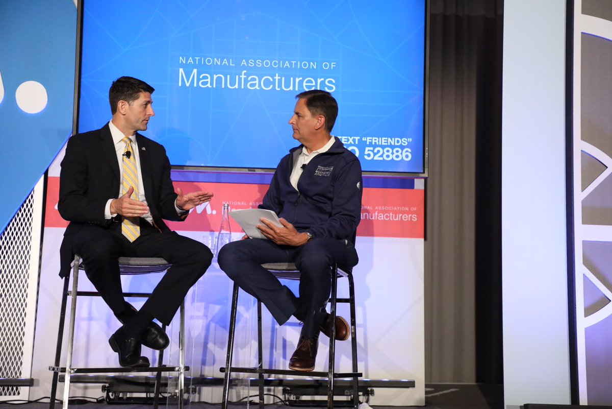 "Last week #manufacturers told Washington ""Hear Us"" at the 2017 #MFGsummit.  http:// bit.ly/2tf94bA  &nbsp;  <br>http://pic.twitter.com/r4mGz6J3XN"