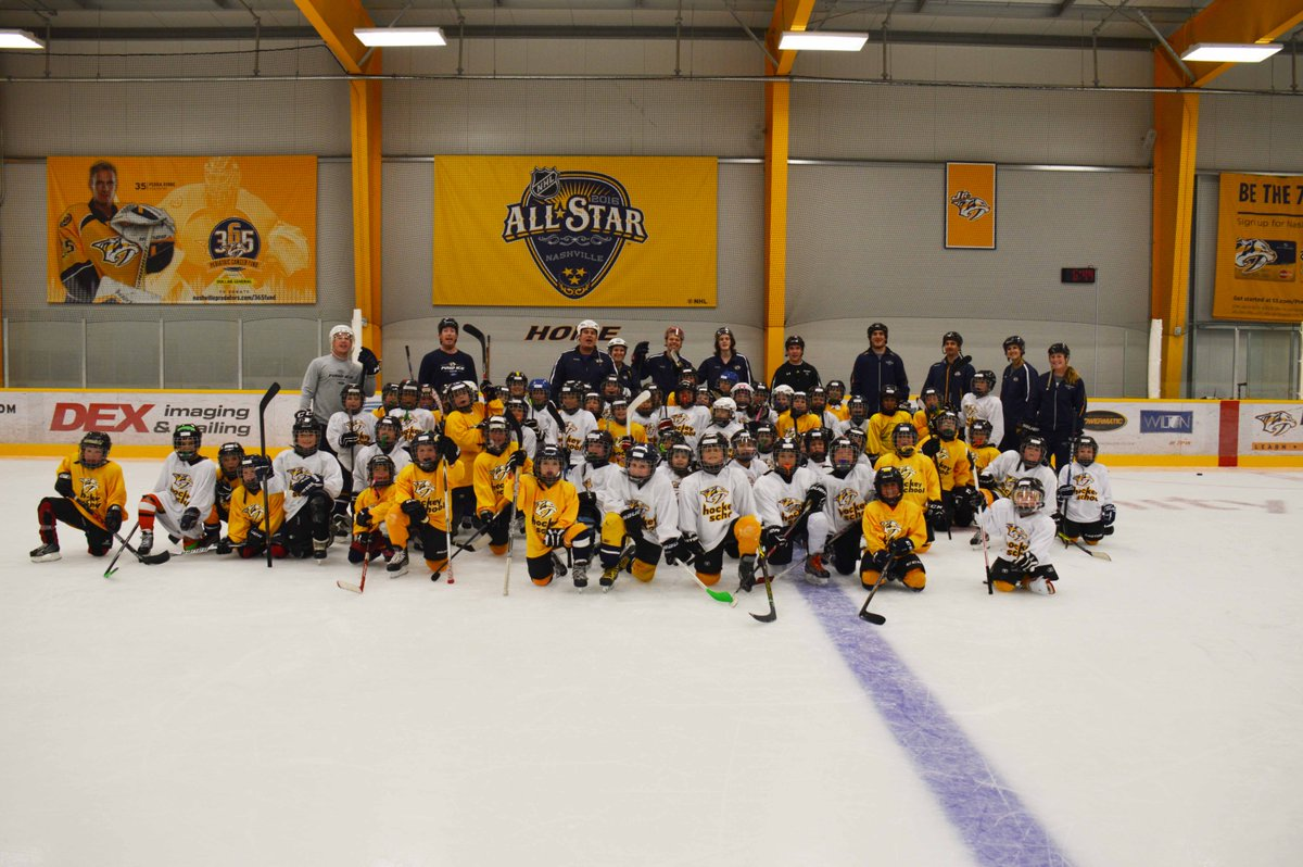 #Preds Hockey Schools have limited spaces remaining! Register your 4-1...