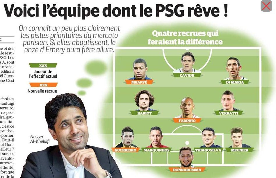 #PSG Donc Draxler out ?? <br>http://pic.twitter.com/EpCSusOZhT