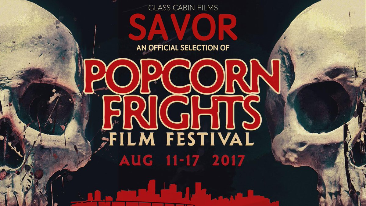 our micro #horrorshort SAVOR is an official selection at the @PopcornFrights Film Festival!  #horror #horrorfilm #horrorfan <br>http://pic.twitter.com/ItMuRR5BC9