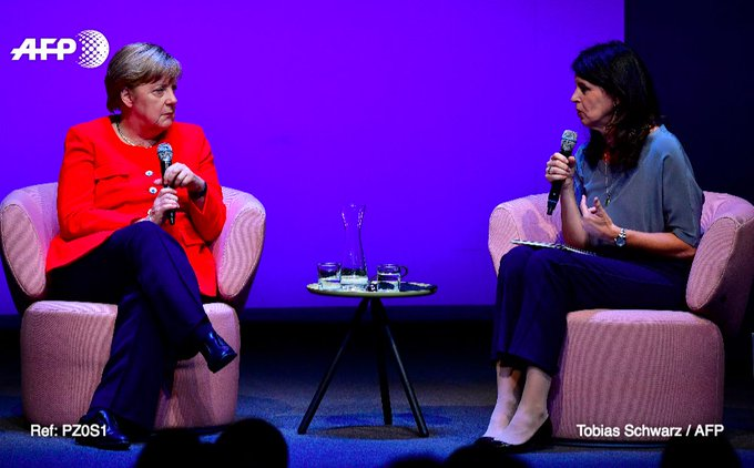 Angela Merkel lève son opposition de principe au mariage gay https://t.co/CkCoJ6y1BL #AFP