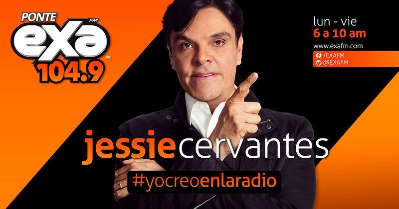 ¡Comienza el día escuchando #JessieEnExa! 🙌  Sintoniza 104.9 porque te...