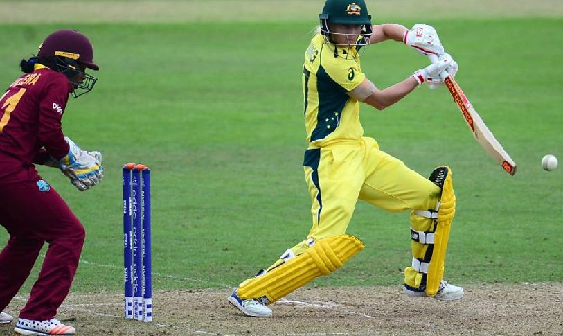 Watch highlights as Australia powered to victory over West Indies in t...