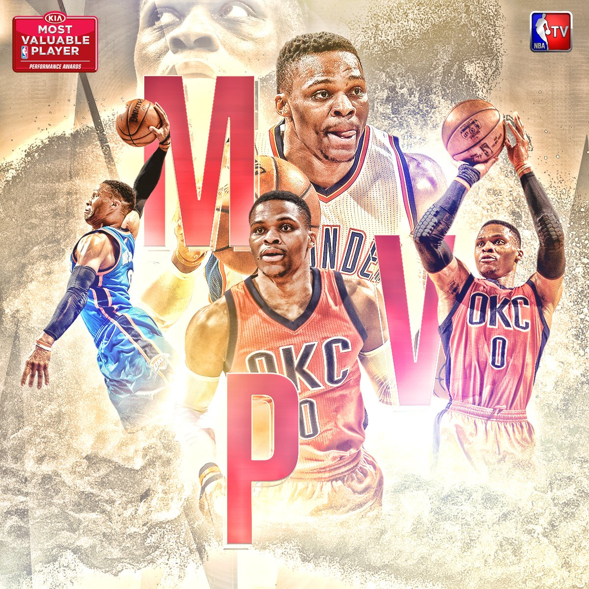 The 2016-17 KIA NBA Most Valuable Player is Russell Westbrook! #NBAAwa...