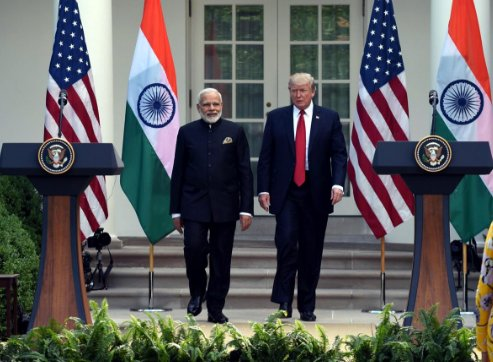 India, US vow to fight terror, boost economic cooperation #1देशएकटैक्स...