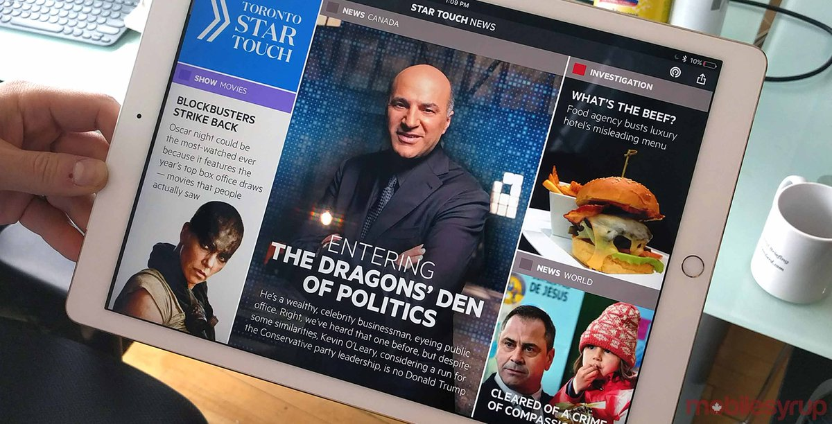 Toronto Star shutters Star Touch and reveals plans to launch new unive...
