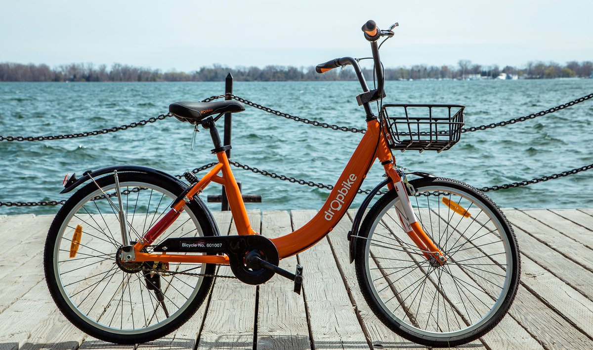 Bike sharing pilot project by @getdropbike to get rolling by end of the month in #ygk  http:// bit.ly/2sUZGXD  &nbsp;  <br>http://pic.twitter.com/rZa3t6Hn7H