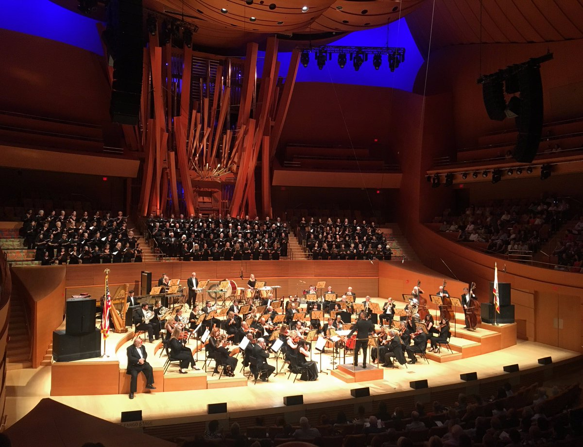 Dream come true conducting my #Thor score at Walt Disney Concert Hall yesterday! 150 person choir, @caphilharmonic! @MarvelStudios #Marvel <br>http://pic.twitter.com/DRoder054q