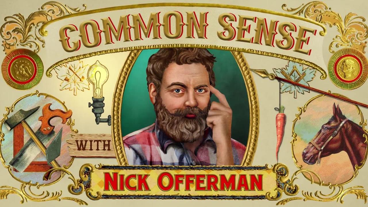 "On @Nick_Offerman's birthday, let him offer you some wholesome advice. Tip #1? ""The hug is mightier than the punch."" https://t.co/kusc2USTah"