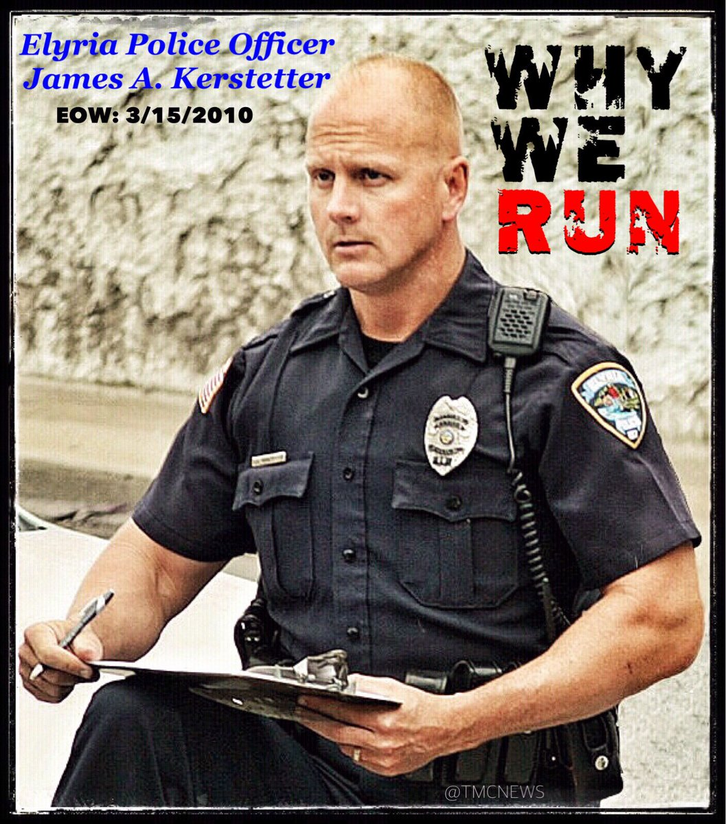 #Police #OfficerJim Kerstetter was shot &amp; killed in the #LineOfDuty on March 15, 2010.  We run to honor his sacrifice &amp; to never forget <br>http://pic.twitter.com/m8ohqBq6Lp