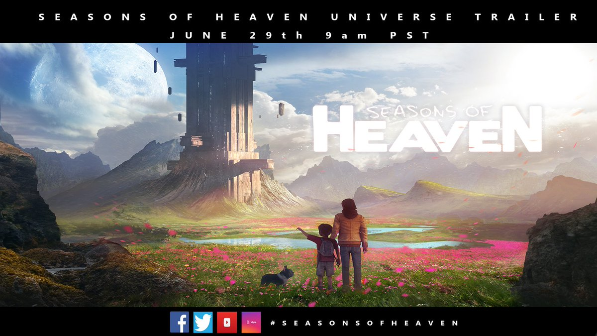 Seasons of Heaven &quot;universe&quot; story trailer is coming this week #Seasonsofheaven #book #audiobook #game <br>http://pic.twitter.com/f9PB0Ne6bW