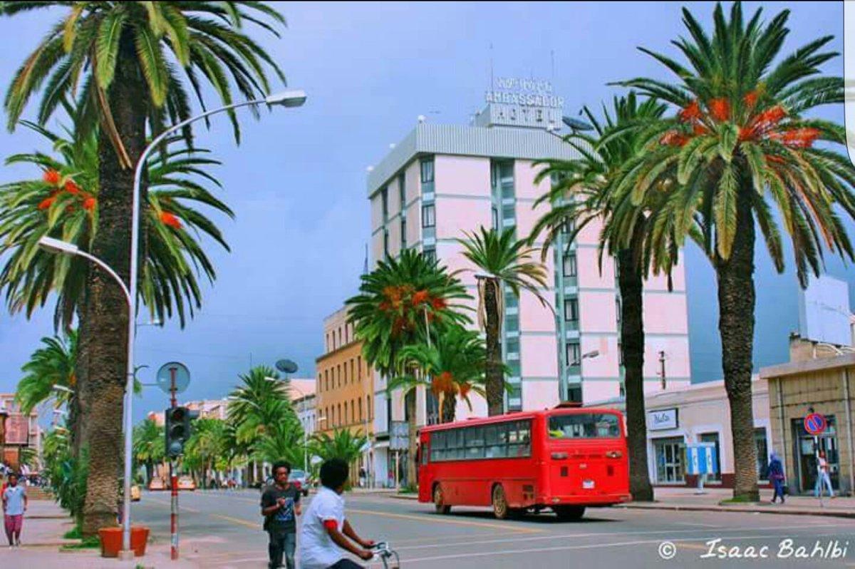 Our beautiful, peaceful and clean city of #Asmara. Visit #Eritrea #TravelToEritrea  #Travel #Tourisme <br>http://pic.twitter.com/sCZEjWnTvv