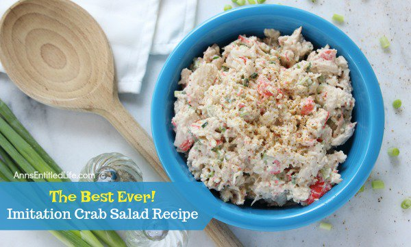 Imitation Crab Salad Recipe
