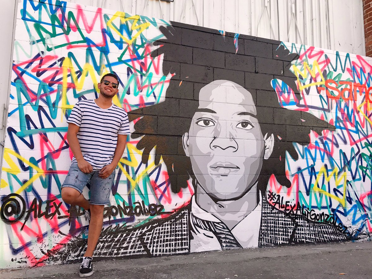 New mural I finished in The Down town Los Angeles Arts District. #basquiat #samo<br>http://pic.twitter.com/oNi4g3FjS2