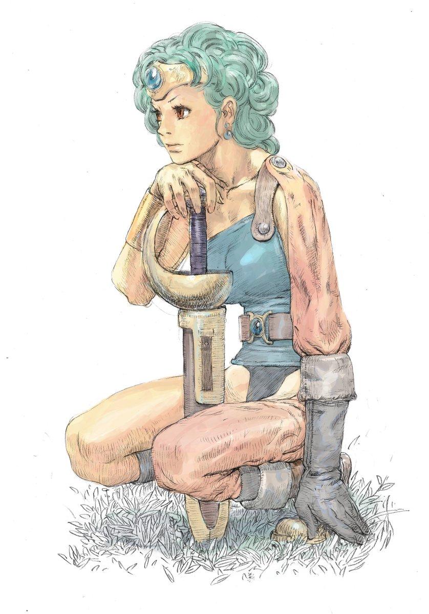 ドラクエ女勇者さん
