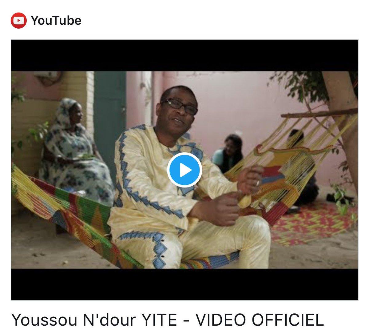 New Clip de @YoussouNdourSN  #kebetu #Yite  https://www. youtube.com/watch?v=MyHla6 chMik&amp;sns=tw &nbsp; … <br>http://pic.twitter.com/VIlqBjHBar